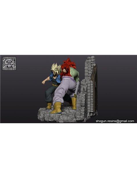 Shogun Studios 1/6 Trunks vs Kogu Diorama Resin Statue