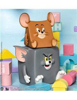 Soap Studio 8cm Jerry & 10cm Tom Action Mishap Figure