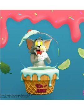 Soap Studio Tom and Jerry -Ice Cream Snow Globe Resin Figure