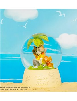 Soap Studio Tom and Jerry - Tropical Oasis Crystal Ball Resin Figure