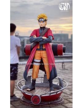 CW Studio 1/1 Naruto Uzumaki Naruto 仙人モード Resin Statue
