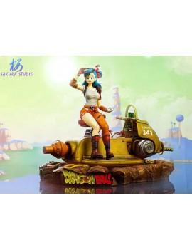 SAKURA Studio Dragonball Chariot Bulma Resin Statue