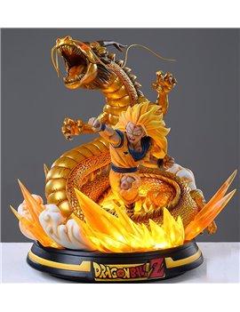 Xceed x MRC 1/6 Dragon fist Super Saiyan 3 Goku Resin Statue EX Gold Ver.