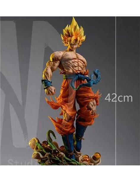 Cartoon World Studio Dragon Ball Super Saiyan Son Goku 1/6 Resin Statue