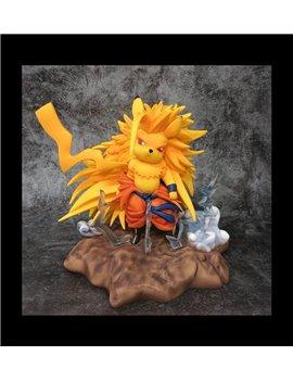 Djfungshing Goku 3 X Pikachu Resin Statue