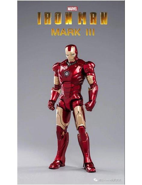 ZT Toys 1/10 Marvel Iron Man MK III Mark 3 & Hall of Armor Set