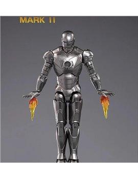 ZT Toys 1/10 Marvel Iron Man MK II & Hall of Armor Set