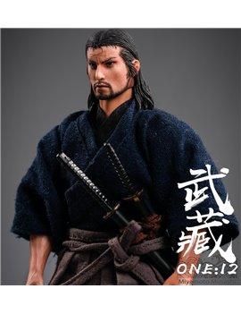 TWTOYS 1/12 Miyamoto Musashi Collectible PVC Action Figure TW1920