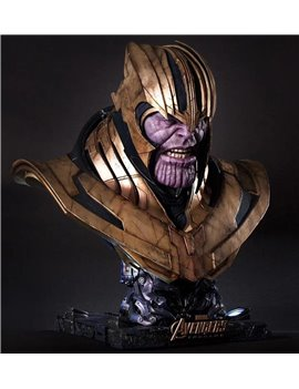 Queen Studios Marvel 1/1 Thanos Bust Resin Statue (Sold out display)