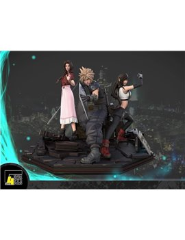 F4 Studio 1/4 Final Fantasy Set Resin Statue