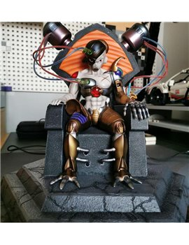 SJM Studio Dragonball Mech Freeza Throne Resin Statue Diorama (Sold out display)